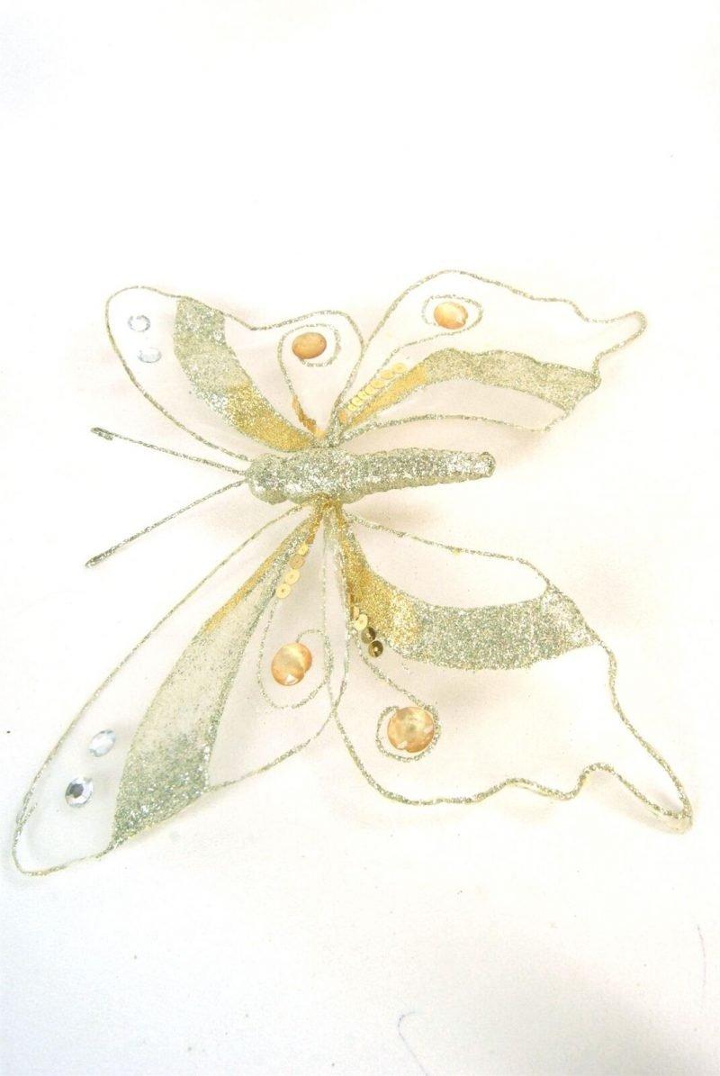Large Gold Jewel Butterflies