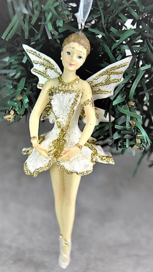Cream Gold Fairy Decorations