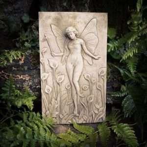 Garden Stone Fairy Plaque