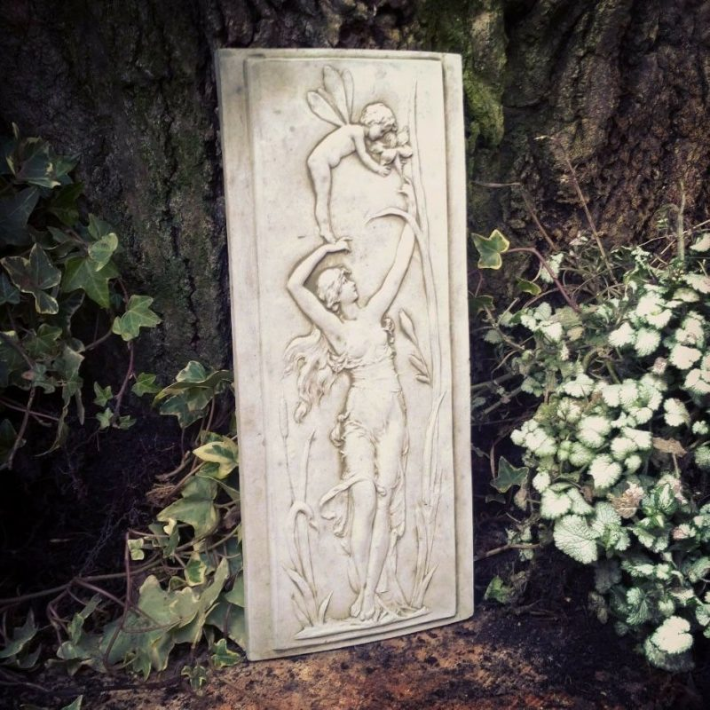 Outdoor Garden Fairy Plaque
