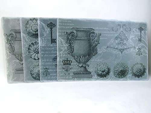 placemat charger mats Grey Urn Design