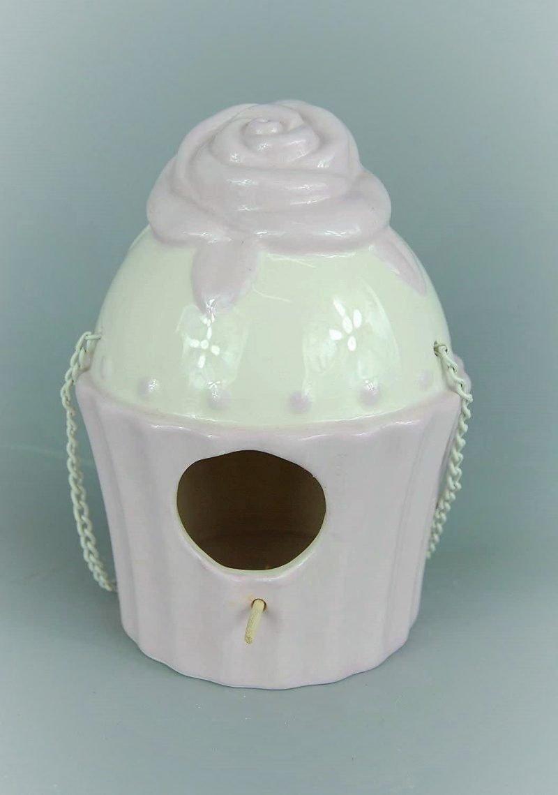 Bird Nesting Cupcake House