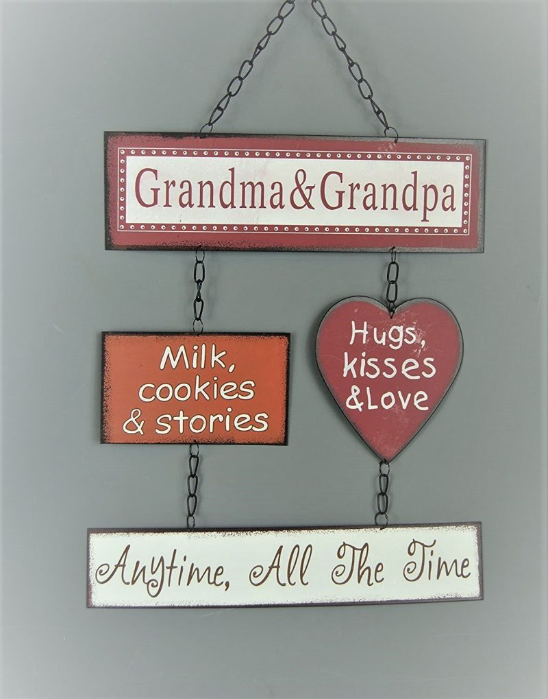 Grandparents Kitchen Wall Plaque