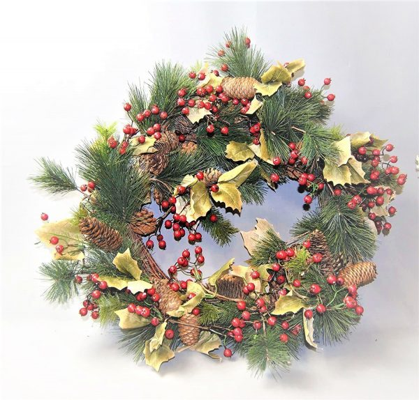 Christmas Traditional door Wreath