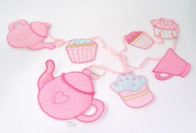 kitchen bunting Tea cupcakes
