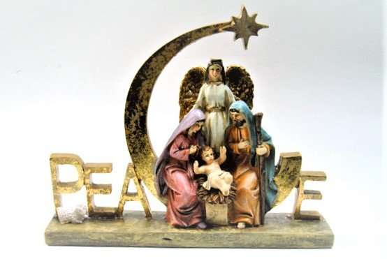 Christmas Nativity Peace Ornament