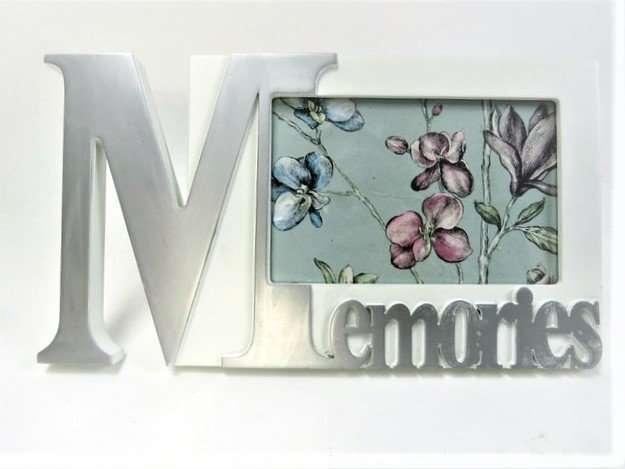 Memories White Photo Frame