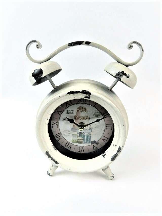 Metal Kitchen Mantle Clock
