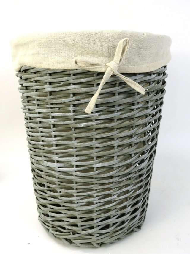 Wicker Laundry Storage Basket