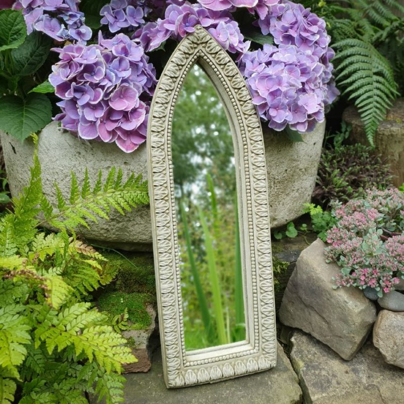 Garden outdoor Arched mirror