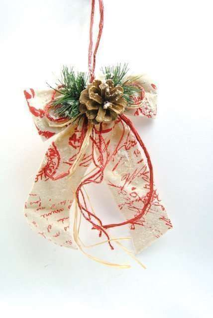 Christmas Large Rustic Bows