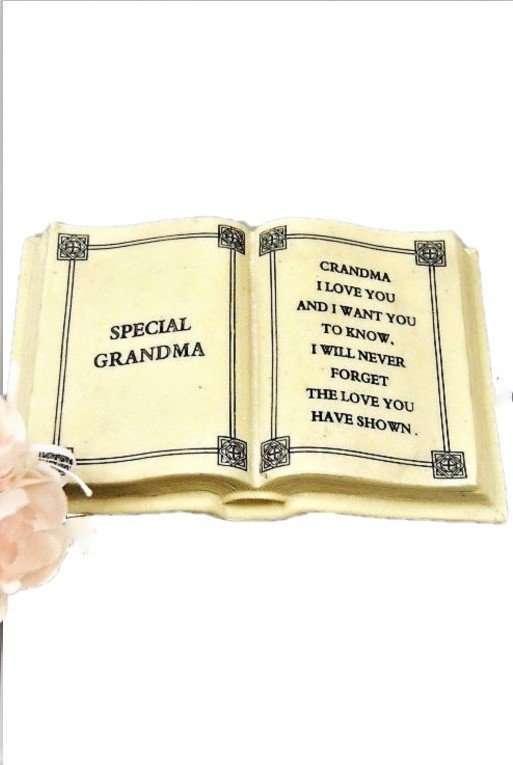 memorial grandma plaque outdoor