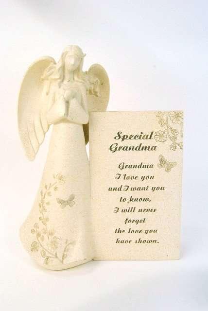 Grandma Memorial Angel Plaque