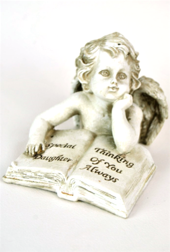 Daughter Memorial Cherub Book