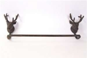 Towel Rail Holder Stag