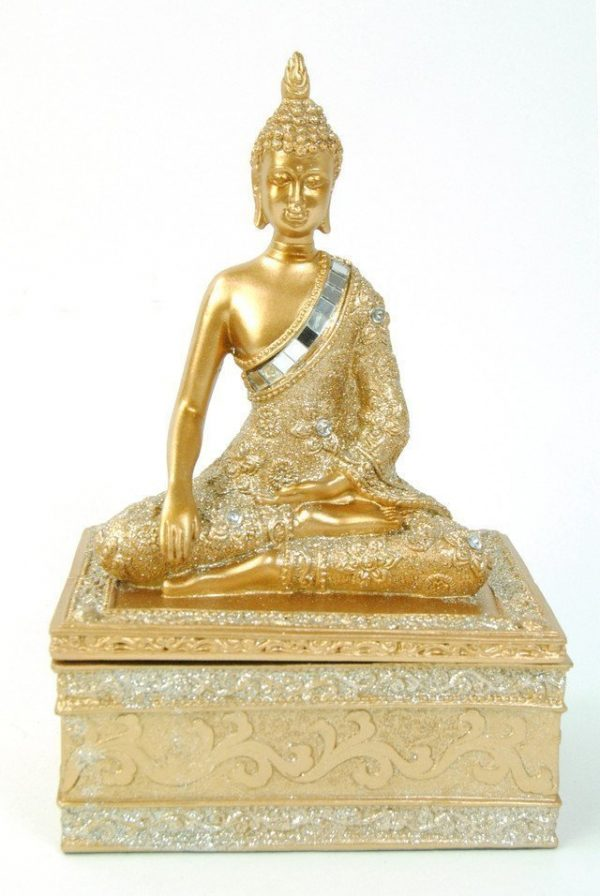 Buddha Gold Jewellery Box