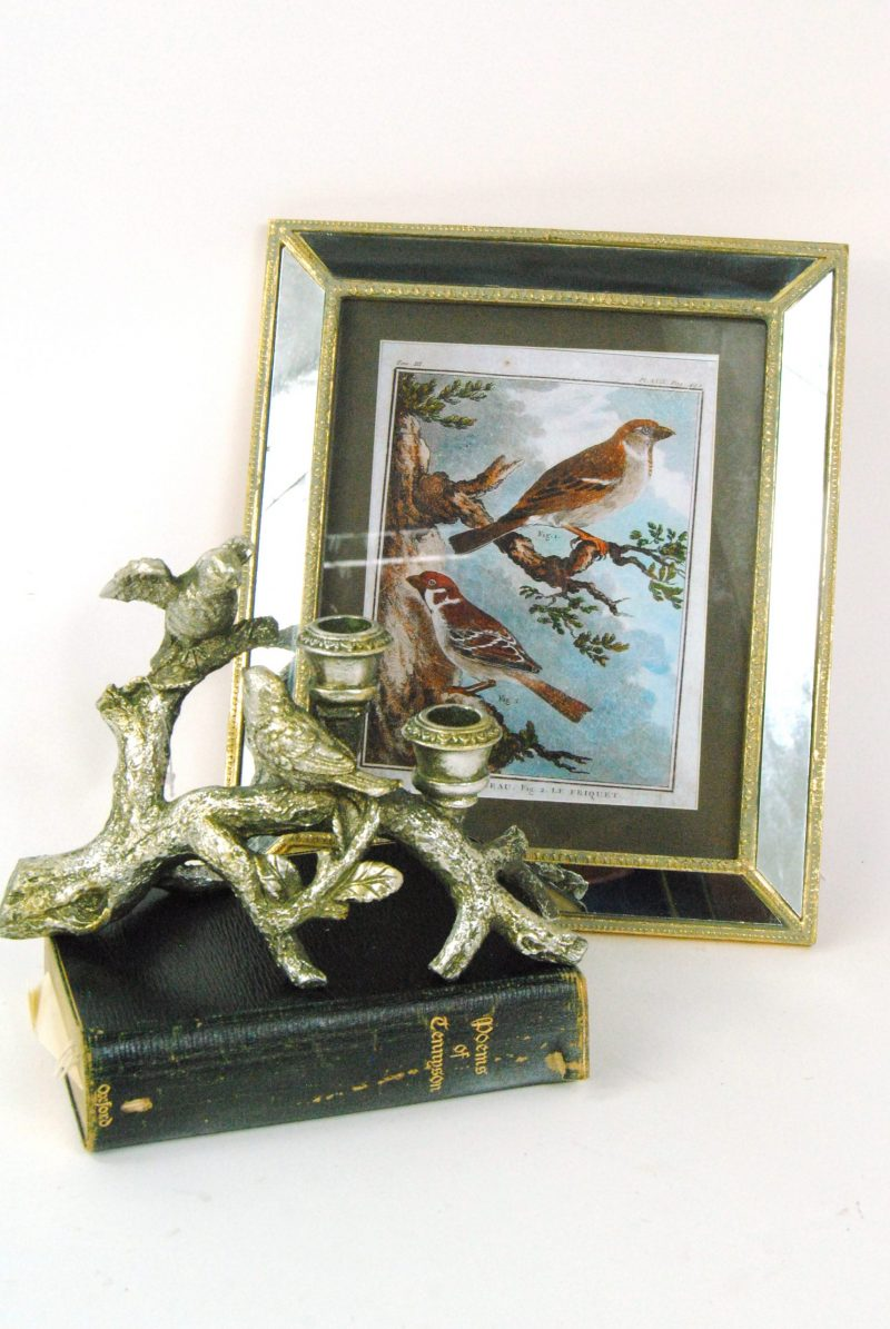 Song Birds Candle Holder