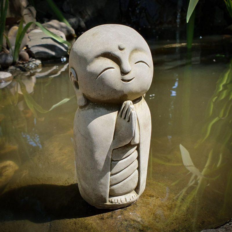 Garden Praying Monk Ornament