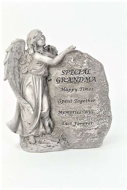 Grandma Outdoor Memorial Angel