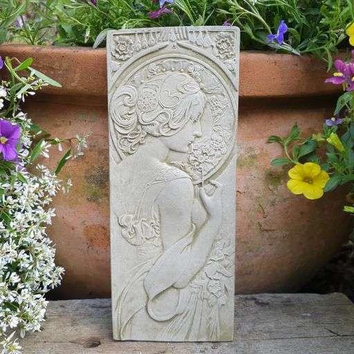 Art Deco Garden Plaque