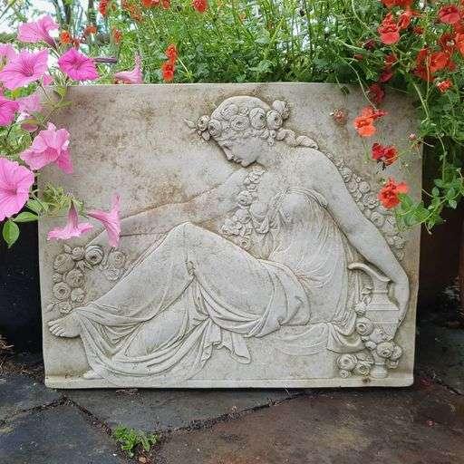 Lady Garden Wall Plaque