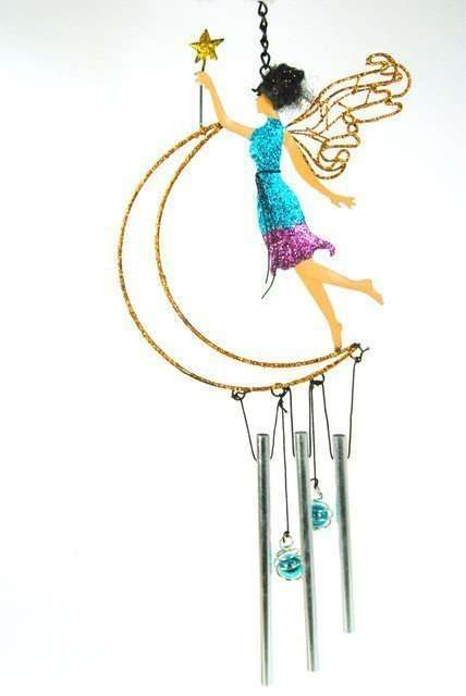 sparkly fairy wind chime.