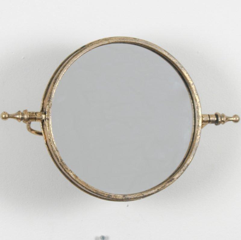 Gold Tilting Wall Mirror