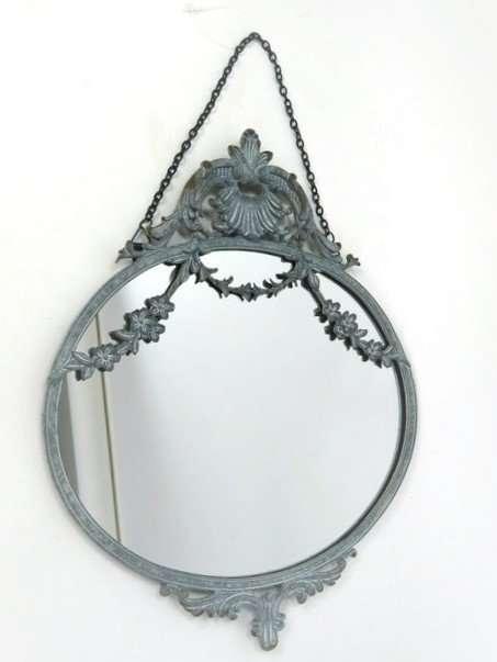 Ornate grey Wall Mirror