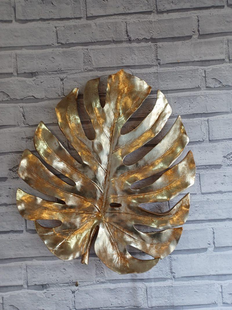 Gold Leaf Wall Art
