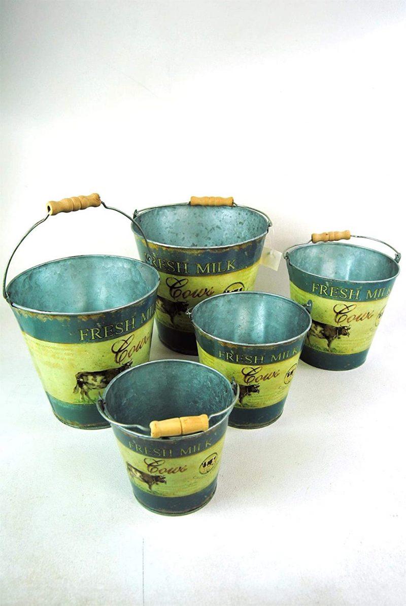Fresh Milk Cow Pail Buckets