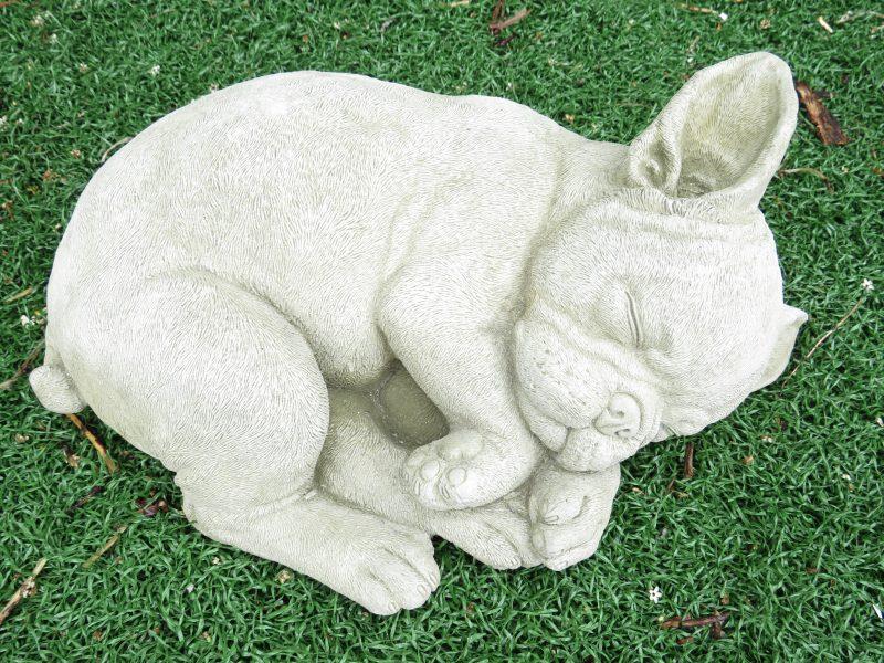 French Bulldog Garden Statue