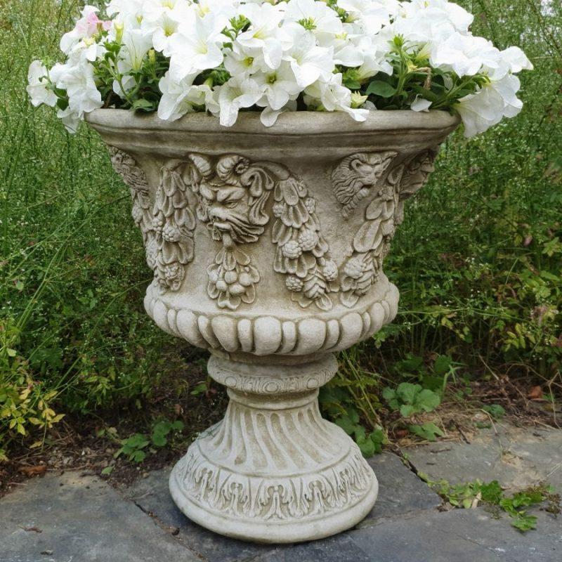 Garden Outdoor Stone Vase Planter