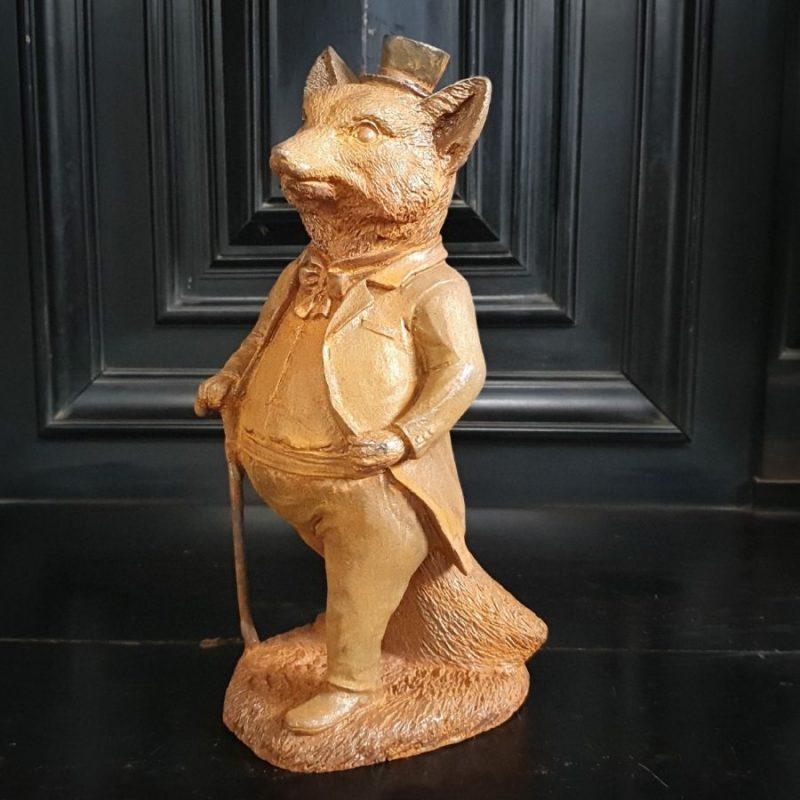 Mr Fox Statue Garden