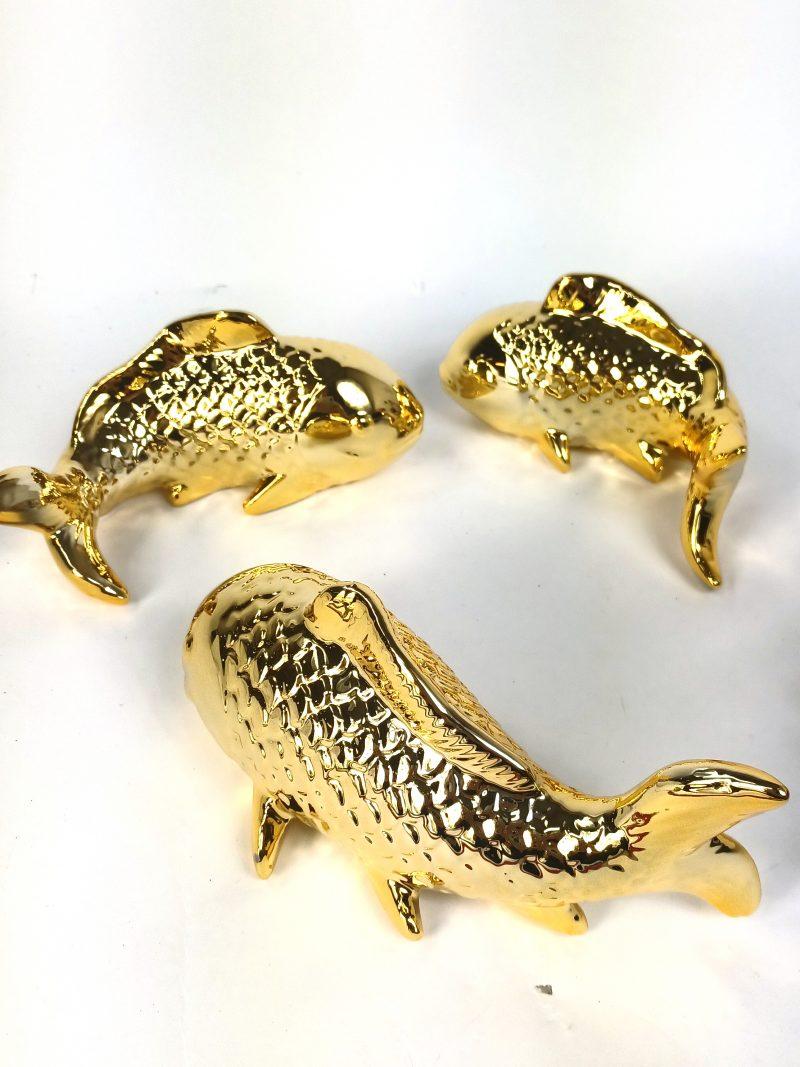 Gold Koi Carp Ornaments